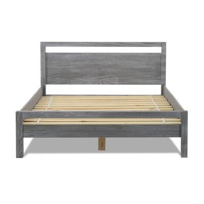 Loft Queen Platform Bed Color: Grey