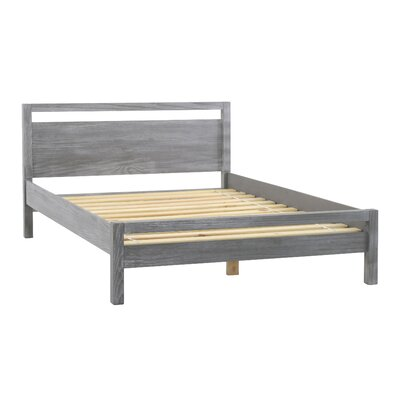 Loft Queen Platform Bed Finish: Grey