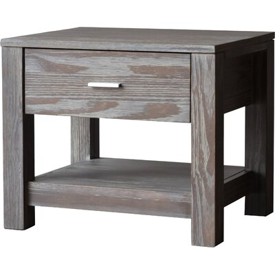 Loft 1 Drawer Nightstand Color: Weathered Pine