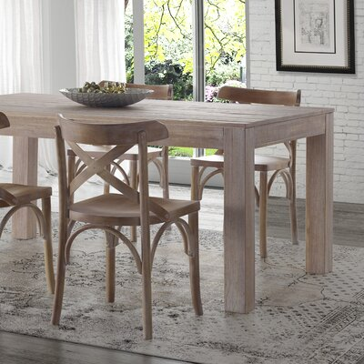 Montauk Dining Table Finish Driftwood