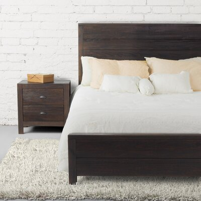 Montauk Panel Bed Size: Queen, Finish: Barnwood