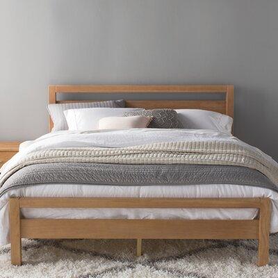 Loft Queen Platform Bed Color: Acacia