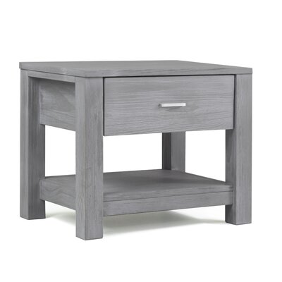 Loft 1 Drawer Nightstand Color: Brushed Grey