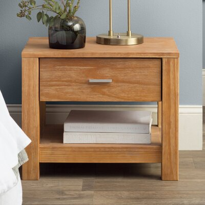 Loft 1 Drawer Nightstand Color: Acacia