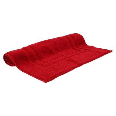 Micro Cotton Luxury Tub Mat Color: Claret