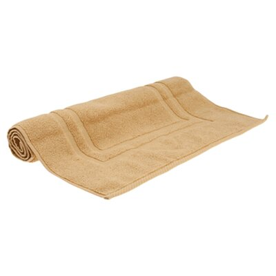 Micro Cotton Luxury Tub Mat Color: Wheat