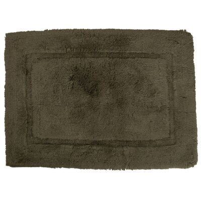 Egyptian Quality Cotton Non-Slip Bath Rug Size: Small, Color: Moss