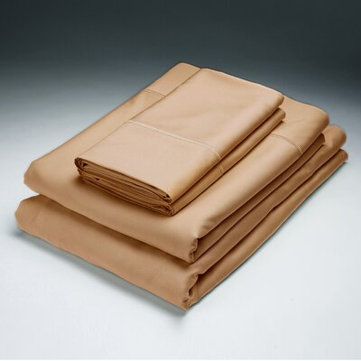 Rayon from Bamboo Pillowcase Size: King, Color: Copper