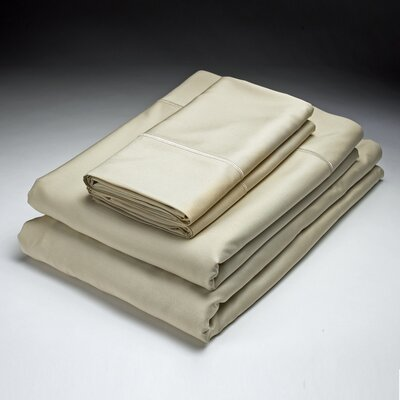 250 Thread Count Flat Sheet Size: Queen, Color: Hemp