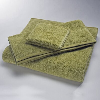 Luxury Wash Cloth Size: Wash, Color: Lime
