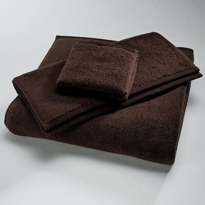 Microcotton Luxury Towel Size: Shower Towel: 30 x 60, Color: Chocolate