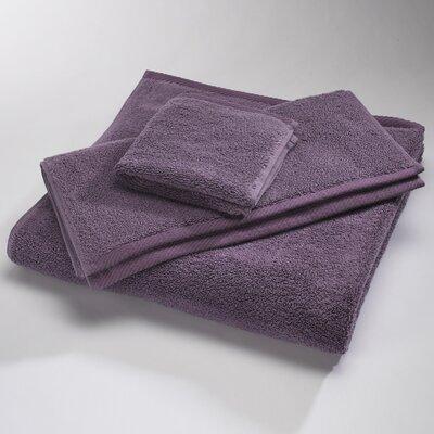 Microcotton Luxury Towel Size: Shower Towel: 30 x 60, Color: Eggplant