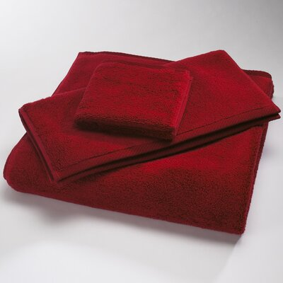 Microcotton Luxury Towel Size: Shower Towel: 30 x 60, Color: Claret