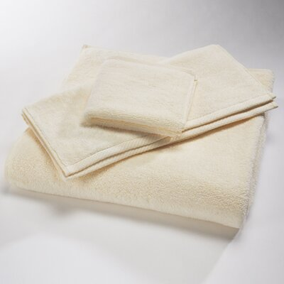 Microcotton Luxury Towel Size: Body Sheet Towel: 34 x 70, Color: Ivory