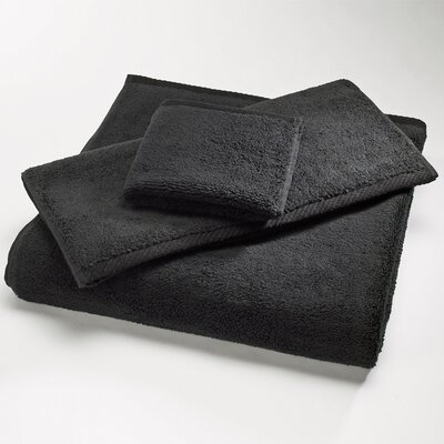 Microcotton Luxury Towel Size: Body Sheet Towel: 34 x 70, Color: Black
