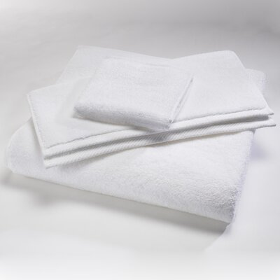 Microcotton Luxury Towel Size: Shower Towel: 30 x 60, Color: White