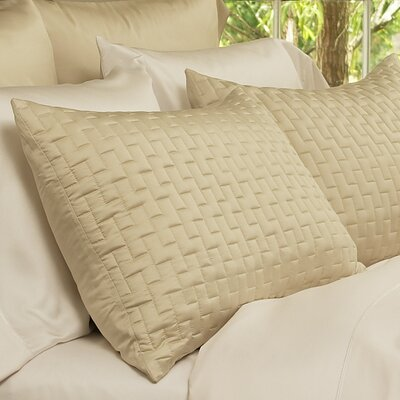 Rayon from Bamboo Pillowcase Size: Standard, Color: Hemp