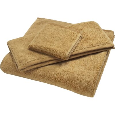 Reversible Cotton Bath Rug Size: Small, Color: Wheat