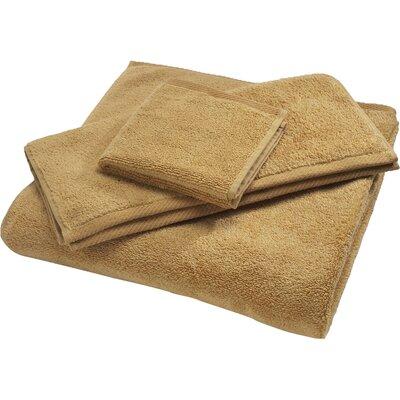 Reversible Cotton Bath Rug Size: Large, Color: Wheat