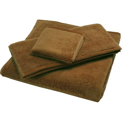 Reversible Cotton Bath Rug Size: Small, Color: Bronze