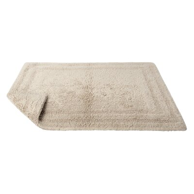 Reversible Cotton Bath Rug Size: Extra Large, Color: Oat