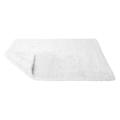 Micro Cotton Luxury Tub Mat Color: White
