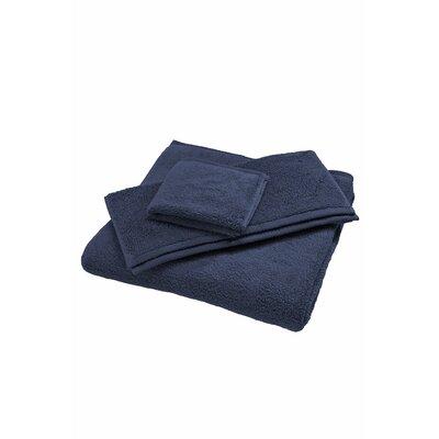 Luxury Body Bath Sheet Color: Navy