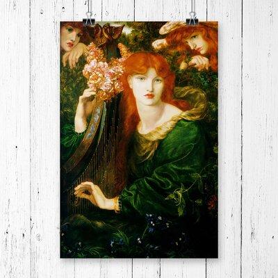 'La Ghirlandata' by Dante Gabriel Rossetti Painting Print.