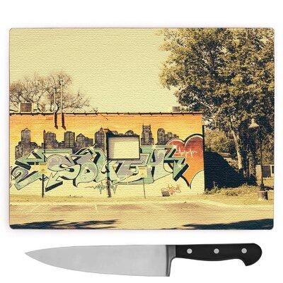 Nashville Graffiti Wall Art Large Chopping Board
