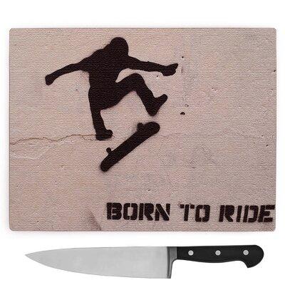 Skateboard Skateboarding Graffiti Wall Art Large Chopping Board