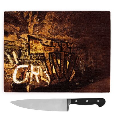 Graffiti Wall Art Large Chopping Board at Wayfair