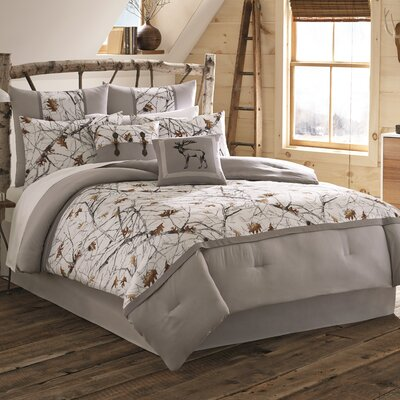 Lamarre Reversible Comforter Set Size: Full