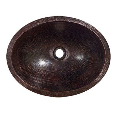 Metal Oval Drop-In Bathroom Sink