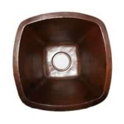 18 x 18 Single Bowl Copper Kitchen/Bar Sink