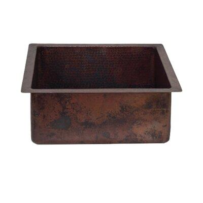 20 x 18 Single Copper Kitchen/ Bar Sink