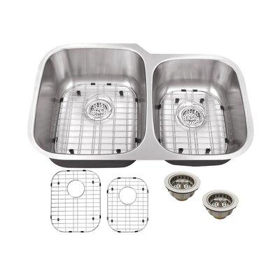 30 x 19 Double Bowl Kitchen Sink