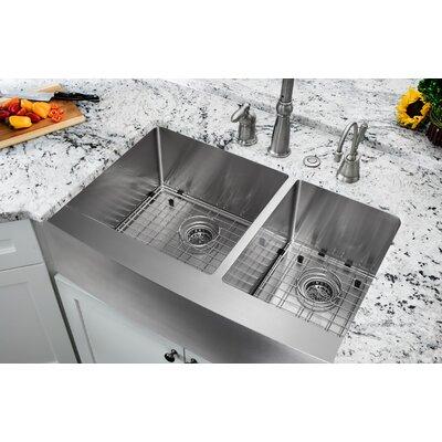 35.875 x 20.75 Double Bowl Farmhouse/Apron Kitchen Sink