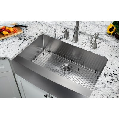 32.875 x 20.75 Single Bowl Farmhouse/Apron Kitchen Sink
