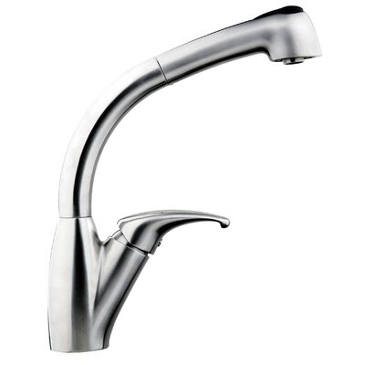 Single Handle Single Hole Pull Out Kitchen Faucet