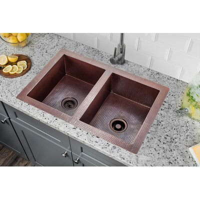 28 x 16 Double Bowl Kitchen Sink