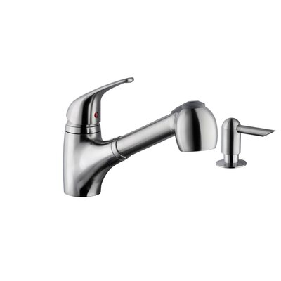 18 Gauge Stainless Steel 17.13 x 17.13 Undermount Bar Sink with Low Profile Pull Out Faucet Faucet Finish: Stainless Steel