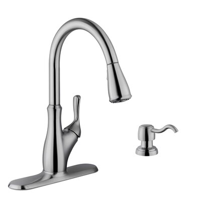 16 Gauge Stainless Steel 23.25 x 20.88 Undermount Kitchen Sink with Gooseneck Faucet Faucet Finish: Stainless Steel