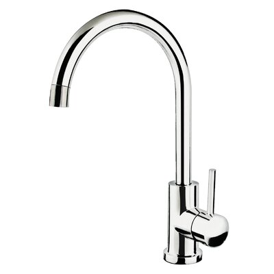 Single Handle Kitchen Faucet Finish: Polished Chrome