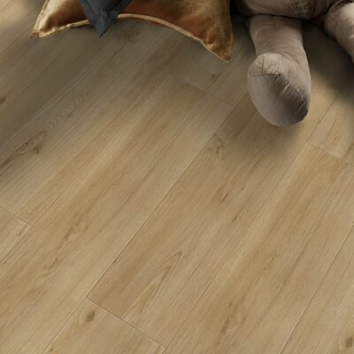 Home Creation Clic 6.9 x 39.3 Luxury Vinyl Plank in Sycamore