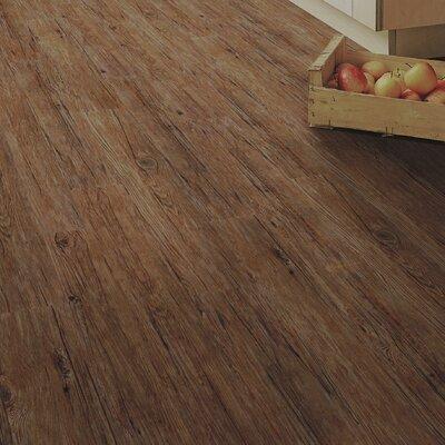 Home Creation Clic 6.9 x 39.3 Luxury Vinyl Plank in Wild Oak
