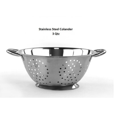 Stainless Steel Colander Capacity: 5 Quarts