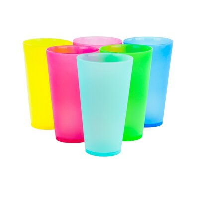 Picnic 6 Piece Colourful Party Cups MW19131