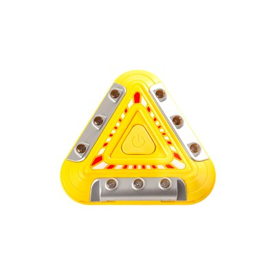 Flashing Emergency Triangle LED Warning Lights