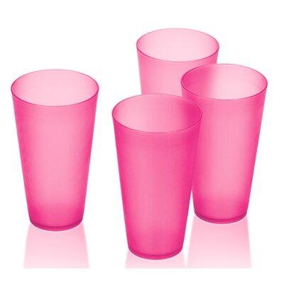 Alvin Bright Plastic 16 oz. Tumbler Cups FRPK1586 42835434