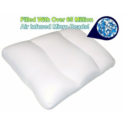 Super Comfy Microbeads Support Polyfill Neck Pillow